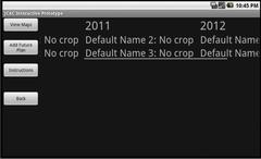Crop Rotation History | RM.